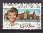 Stamps Spain -  centenario hospital niño jesus