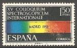 Stamps Spain -  1924 - XV Coloquium Spectroscopicum Internationale