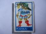 Stamps Poland -  El Gato con Botas.