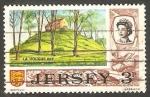 Sellos del Mundo : Europa : Isla_de_Jersey : 33 - Tumba prehistórica