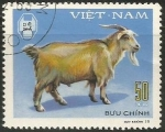 Sellos de Asia - Vietnam -  Domestic Horned Animals