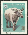 Sellos del Mundo : Asia : Vietnam : Domestic Horned Animals