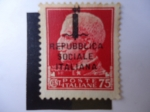 Stamps Italy -  Vittorio Emanuele III de Italia (1869-1947) - S/218