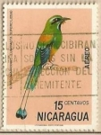 Sellos de America - Nicaragua -  Nicaraguan Birds - Guardabarranco