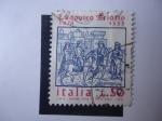 Sellos de Europa - Italia -  Lodovico Ariofto - Rey Orlando el Furioso -S/1159