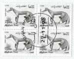 Sellos del Mundo : Asia : Afganistán : Zorro rojo (1833)