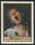 Sellos de Europa - Hungría -  Yawning Boy by Mihály Munkácsi (1800)