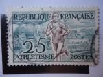 Stamps France -  Athletisme.