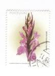 Sellos del Mundo : Europa : Portugal :  Orquidea. Dactylohiza maculata