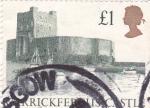 Sellos de Europa - Reino Unido -  castillo