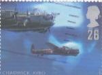 Stamps United Kingdom -   aviónes de combate