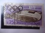 Sellos de Europa - Italia -  Giochi XVII Olimpiade 1960.