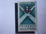 Stamps of the world : Italy :  Prudenza Sulla Strada