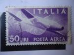 Stamps : Europe : Italy :  Italia- Posta Aerea.