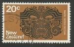 Sellos de Oceania - Nueva Zelanda -  Maori Tattoo