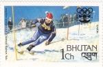 Sellos de Asia - Bhután -  olimpiada de invierno Innsbruck-76