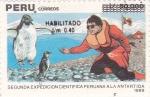 Stamps Peru -  expedición científica peruana a la Antartida