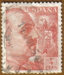 Sellos del Mundo : Europa : España : General Franco y Escudo