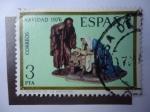 Stamps Spain -  Ed:2368- Navidad 1976-. El Mistereio de la Natividad