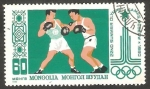 Stamps : Asia : Mongolia :  Boxeo