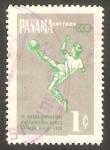 Stamps Panama -   333 - III Juegos deportivos Panamericanos, en Chicago fútbol