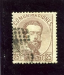 Stamps Spain -  Amadeo I