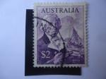 Stamps Australia -  Arqueólogo: Fletcher Bass
