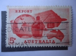 Stamps Australia -  Export.