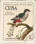 Sellos del Mundo : America : Cuba : Tocoro cubano (1739)
