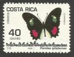 Sellos de America - Costa Rica -   Parides iphidamas (1498)