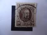 Stamps Belgium -  Kig Alberto I.