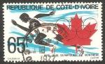 Sellos del Mundo : Africa : Costa_de_Marfil : Olimpiadas de Montreal