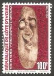 Stamps : Africa : Ivory_Coast :  Escultura de Gohitafla
