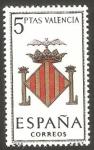 Sellos de Europa - España -  1697 -  Escudo de Valencia