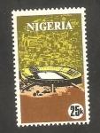 Stamps : Africa : Nigeria :  280 - Juegos deportivos africanos, en Lagos, Estadio de Lagos