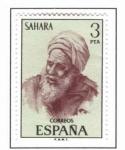 Stamps Spain -  Sahara Tipo Indigena (1)