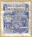 Stamps Spain -  Milenario de Castilla - Escudo