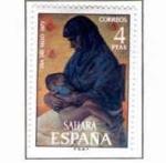 Stamps Spain -  Sahara Dia del Sello (1)