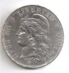 monedas del Mundo : America : Argentina :  moneda anverso