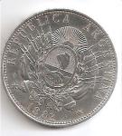 monedas del Mundo : America : Argentina :  moneda reverso
