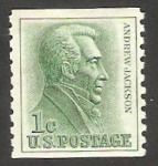 Stamps United States -  740 b - Andrew Jackson