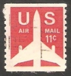 Stamps United States -   74 a - Avión