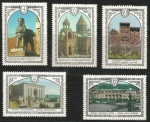 Stamps of the world : Russia :  Arquitectura Armenia (4563-4567)