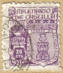 Stamps Europe - Spain -  Milenario de Castilla - Escudo SORIA
