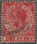 Sellos de Europa - Gibraltar -  George V