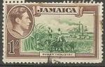 Sellos de America - Jamaica -  INDUSTRIA  AZUCARERA
