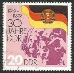 Sellos de Europa - Alemania -  Trabajadores y soldados soviéticos (2203)