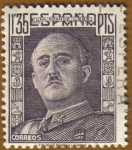 Stamps Europe - Spain -  General Franco Tipo 1942