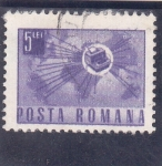 Stamps : Europe : Romania :  comunicaciones