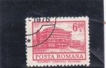 Stamps Romania -  complejo politécnico  Bucarest